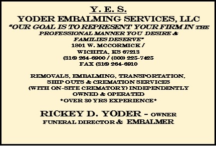 Yoder Embalming Service